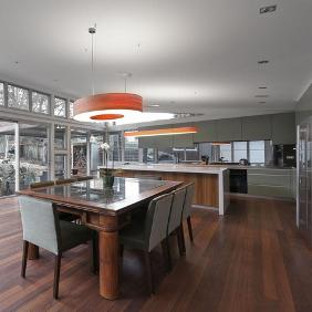 Gladesville New House door met LZF Saturnia