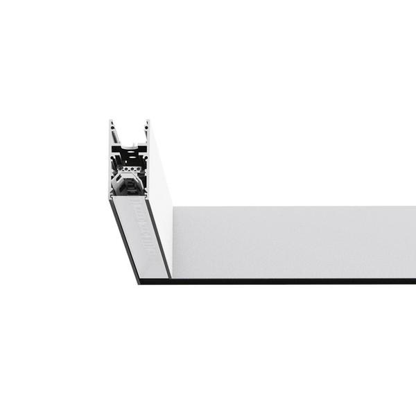 Artemide Architectural A.24 Elément d'angle 90° AR AQ27201 Blanc