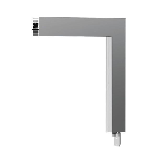 Artemide Architectural A.24 Elément d'angle 90° perpendiculaire AR AQ27301 Blanc