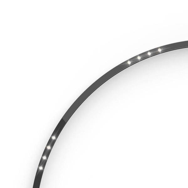 Artemide Architectural A.24 Élément courbé α = 90° F62° r=561mm AR AQ71604 Noir