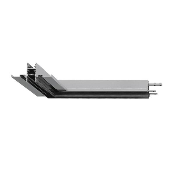 Artemide Architectural A.24 Track Corner AR AQ15504 Zwart
