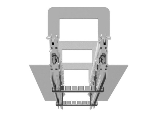 Artemide Architectural A.39 Tecessed No Trim Frame kit L=4736mm AR AT04100 Aluminium