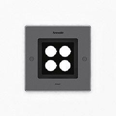 Artemide Architectural Ego 150 Square drive-over WF AR T4006WFLW00 Acier inoxydable