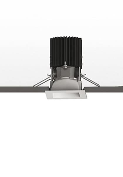 Artemide Architectural Everything 55 Square trim 20° Fixed AR NL4203418K002 Zilver