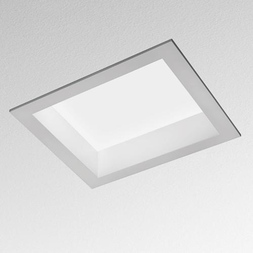 Artemide Architectural Luceri kadro plafond encastré prismoptic Gr14q-1 2x17W AR M025620 Blanc