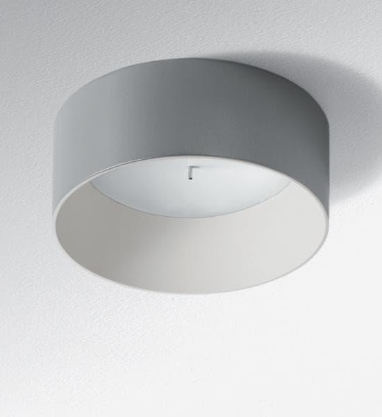 Artemide Architectural Tagora 570 plafond 2g10 1 uur autonomie AR M018167 Grijs