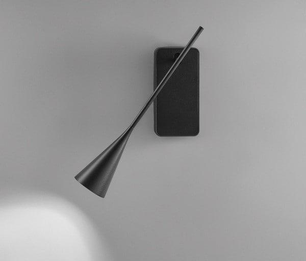 Bover Skybell Plus A/01 LED Push DIM + USB BV 35758032056 Ebben zwart