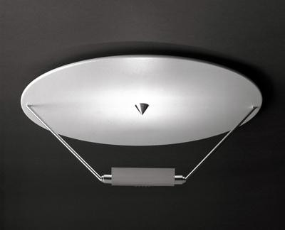Catellani & Smith Disco plafond 160W r7s code DSN CS CS.PL.0011 Blanc / Noir