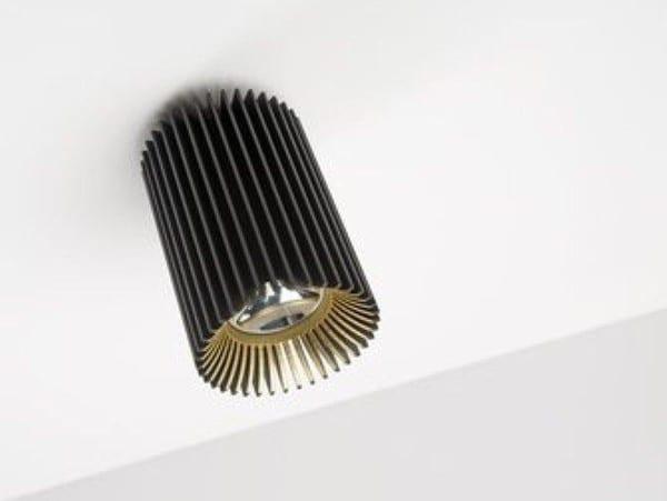 Dark Coolfin R plafond LED 36,3W 60° 4000K 1000mA  DA 83002363406000 Zwart / Zwart