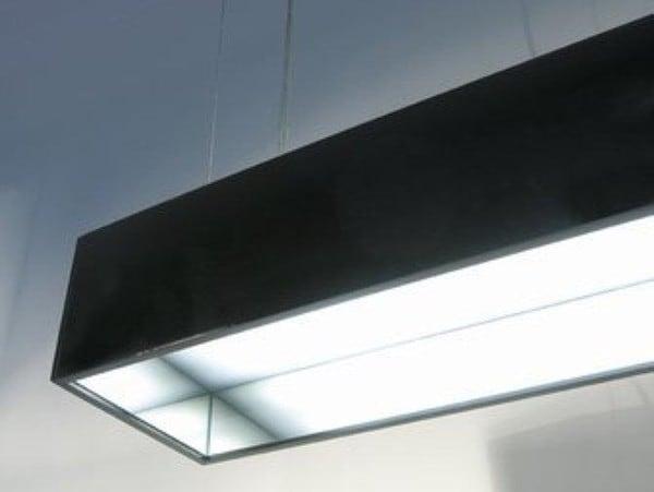 Dark Copperfield 2x28W baissable 1,5m  DA 1160222901 Noir