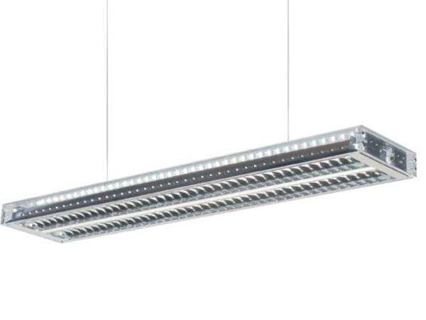 Dark Ice suspension g5 2x28W 7,5m DALI  DA 1000023004 Transparent