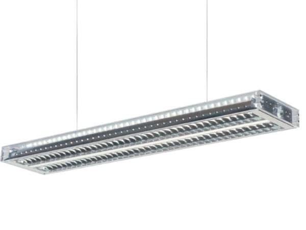 Dark Ice suspension g5 2x54W 7,5m  DA 1000025404G Vert