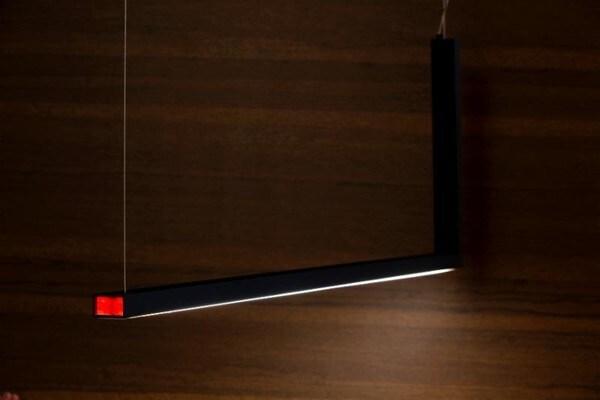 Dark L-bow suspension 28W 10m baissable  DA 7600212905 Noir