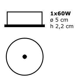 Esedra accessoires ES 386900 Aluminium
