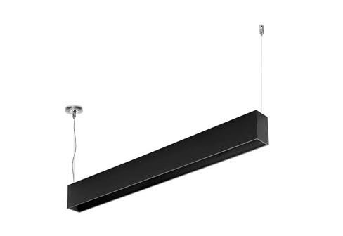 Flos Architectural Compass Box T5 Suspension DALI 35W AN 03.1812.14 Mat zwart