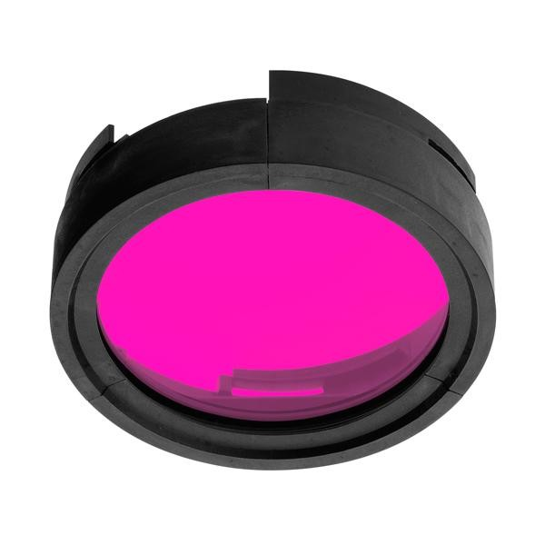 Flos Architectural Compass Spot Filter AN 08.8932.67.OD Rouge