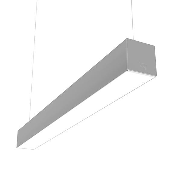 Flos Architectural In-Finity 100 Suspension Down Micro-Prismatic Diffuser Emergency Dali AN N10DEM4U02.DA Zilver