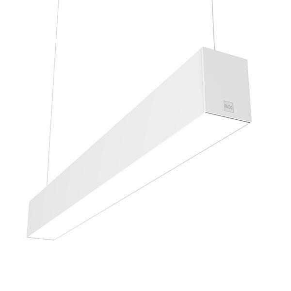 Flos Architectural In-Finity 100 Suspension Up & Down Micro-Prismatic Diffuser Dim DALI AN N10U083U30.DA Blanc
