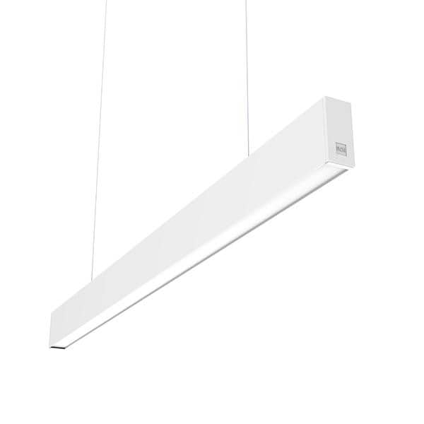 Flos Architectural In-Finity 35 Suspension Down General Lighting Emergency Module Dim DALI AN N35DEM3G30BDA Blanc