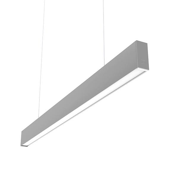 Flos Architectural In-Finity 35 Suspension Down Micro-Prismatic Diffuser Emergency Module AN N35DEM3U02B Argent