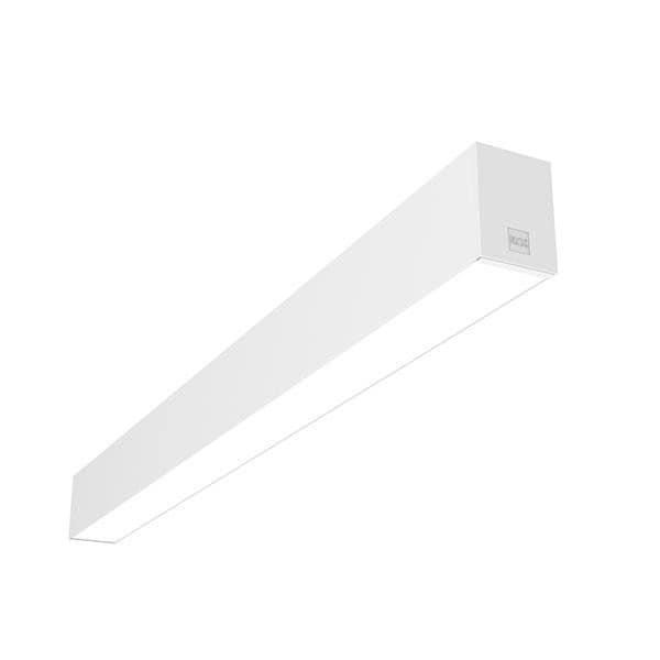 Flos Architectural In-Finity 70 Recessed No Trim Micro-Prismatic Diffuser Emergency Module Dali AN N70NEM4U30BDA Blanc