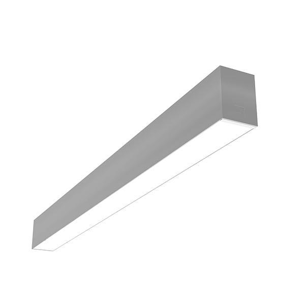 Flos Architectural In-Finity 70 Surface Micro-Prismatic Diffuser Emergency Module Dali AN N70SEM3U02BDA Argent
