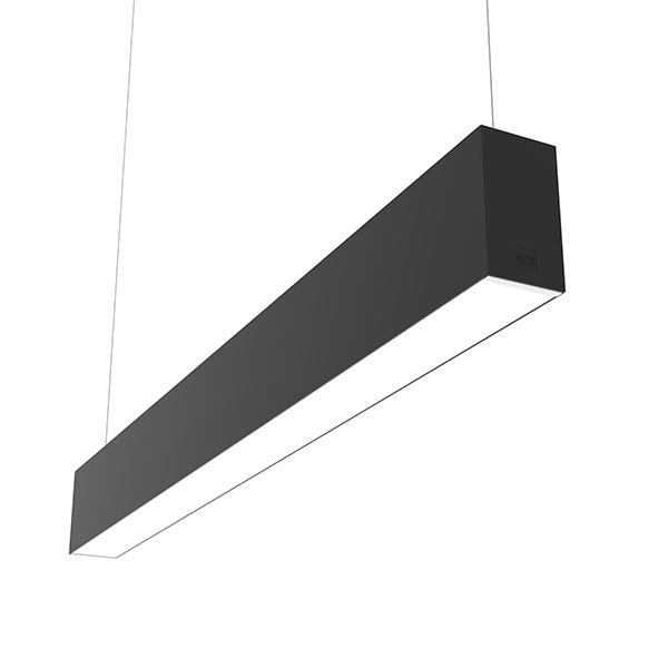 Flos Architectural In-Finity 70 Suspension Up & Down Micro-Prismatic Diffuser Dim DALI AN N70U084U14BDA Noir