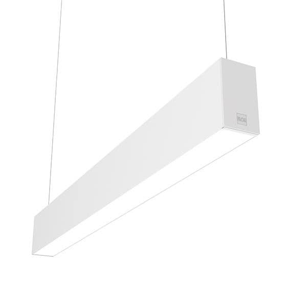 Flos Architectural In-Finity 70 Suspension Up & Down Micro-Prismatic Diffuser Dim DALI AN N70U253U30BDA Wit