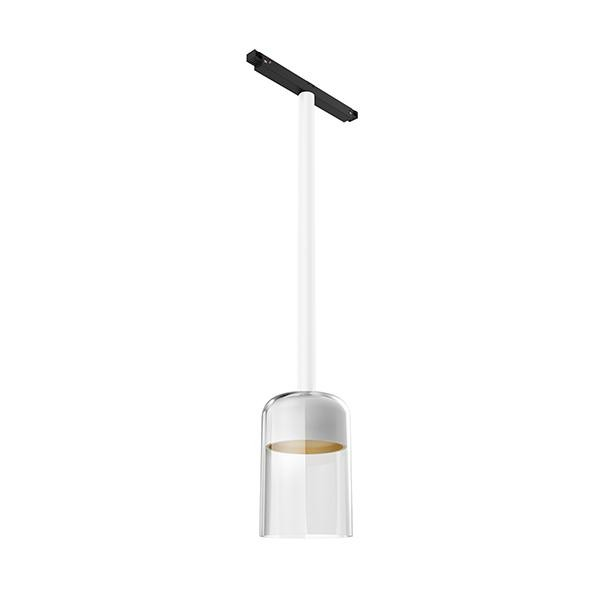 Flos Architectural Infra-Structure Suspension Glass Downlight 110 AN 03.8135.00 Blanc