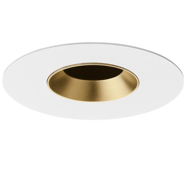Flos Architectural Light Sniper Fixed Round LED AN 03.4658.GL Or depoli