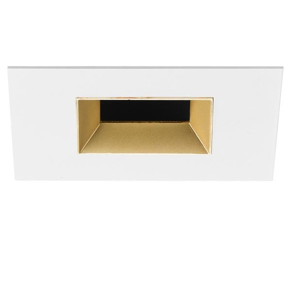 Flos Architectural Light Sniper Fixed Square LED AN 03.4667.GL Or depoli