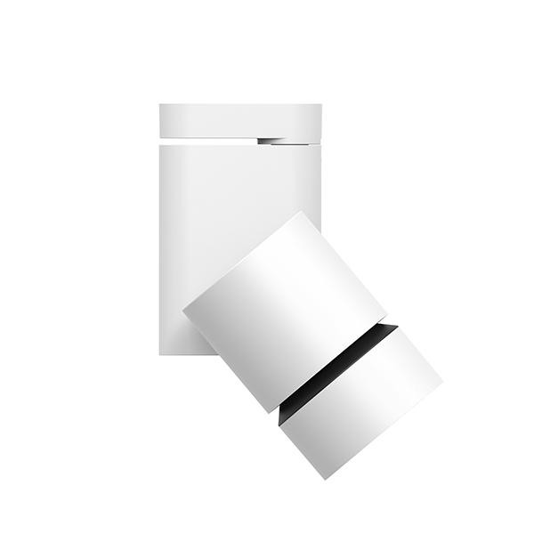 Flos Architectural Pure Solid Ceiling/Wall Dali AN 09.2866.30.DA Wit