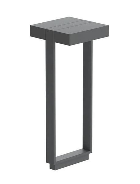 Flos Mile Bollard 2 600 Double FL F015J32A033 Anthracite