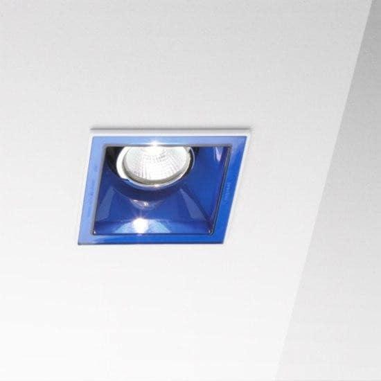 Marset Sqaxis 10 LED MR A603-023 Blanc / Bleu