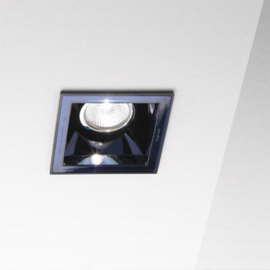 Marset Sqaxis 10 LED MR A603-026 Zwart / Blauw