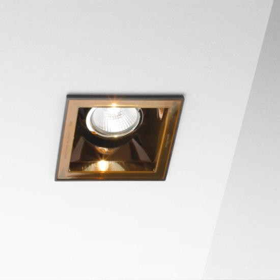 Marset Sqaxis 10 LED MR A603-027 Noir / Orange