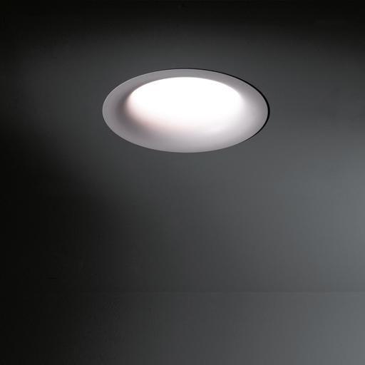 Modular Lighting Cake 168 IP55 Led 1100lm Dali/Pushdim MO 11123209 Wit structuur