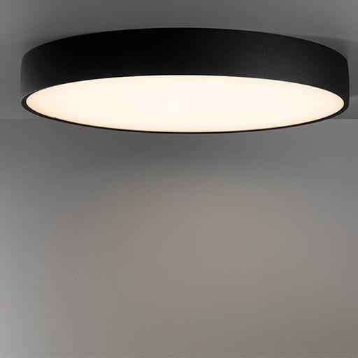 Modular Lighting Flat Moon 950 Ceiling Down LED Dali/pushdim GI MO 13294432 Zwart structuur