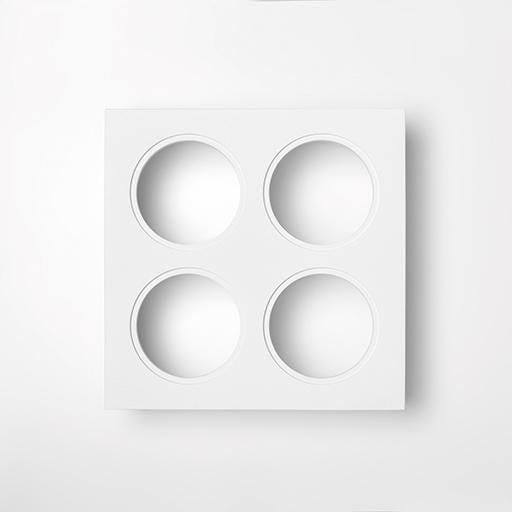 Modular Lighting K Set 77 4x MO 14052309 Blanc structuré
