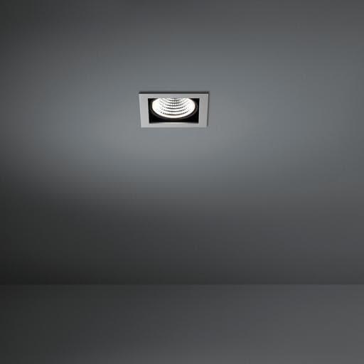 Modular Lighting Mini Multiple 1x Led 1-10V/Pushdim MO 11431005 Aluminium / Zwart