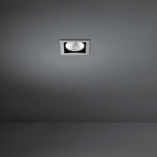 Modular Lighting Mini Multiple 1x Led MO 11433605 Aluminium / Zwart