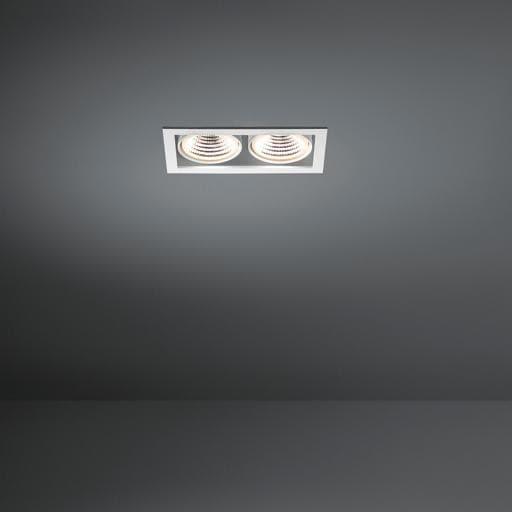 Modular Lighting Mini Multiple 2x Led 1-10V/Pushdim MO 11431409 Wit structuur