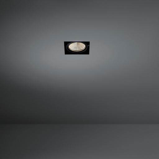 Modular Lighting Mini Multiple Trimless 1x Led MO 11440902 Zwart