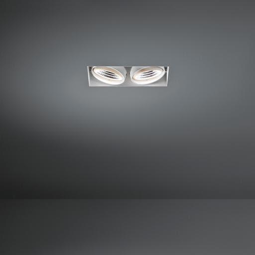 Modular Lighting Mini Multiple Trimless 2x Led MO 11441902 Zwart