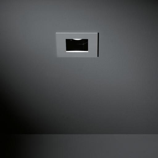 Modular Lighting Slide Square Clockwork Led MO 10484905 Aluminium / Noir
