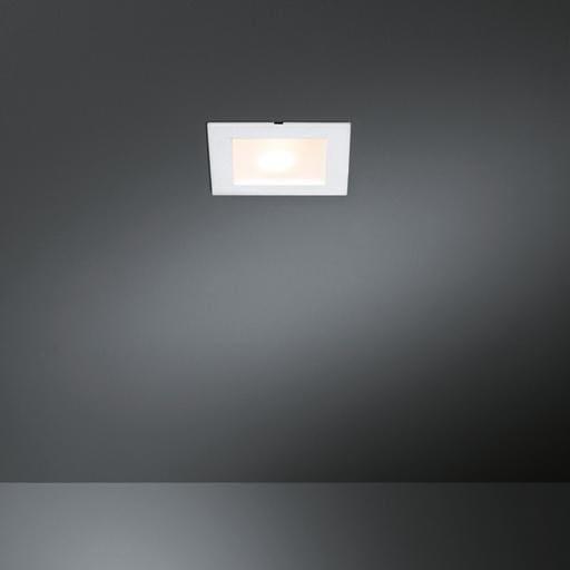 Modular Lighting Slide Square IP44 Led MO 10487109 Blanc structuré