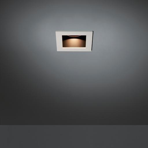 Modular Lighting Slide Square Led MO 10483705 Aluminium / Noir