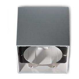 Modular Lighting Smart Surface Box 115 1x LED Tre dim GI MO 12800009 Blanc structuré