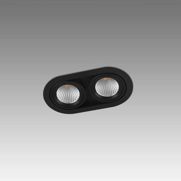 Orbit Mini Rondo Double 2x COB LED OR 925842B2030NW Zwart