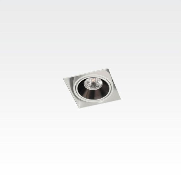 Orbit Piccolo No Frame 1x CONE COB LED OR 955101-5C824WW Blanc / Chrome foncé